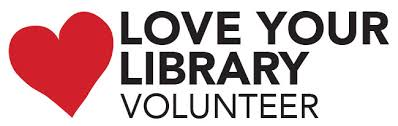 love your library volunteer